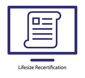 Lifesize Recertification