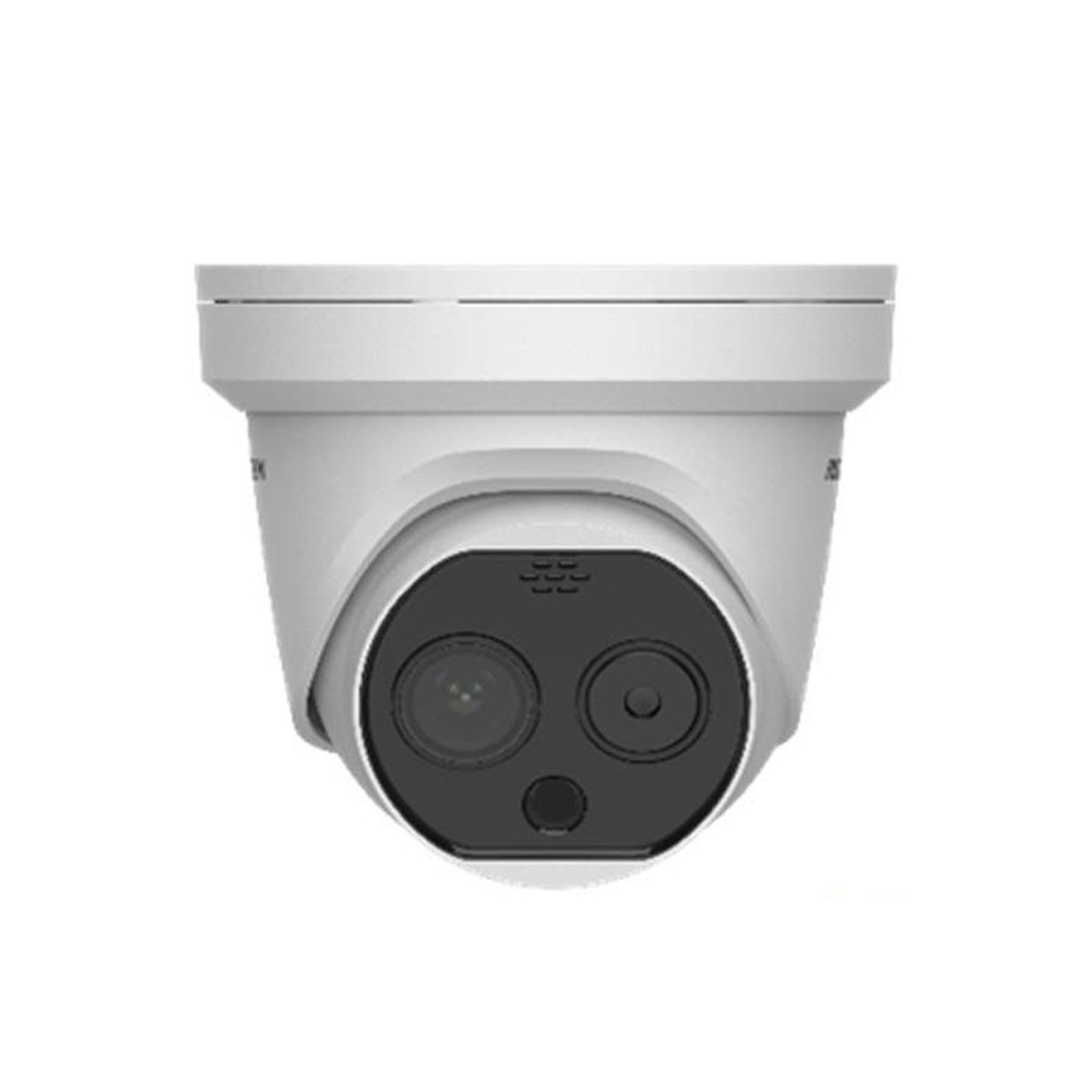 IP Thermal Turret Cameras with Dual Lens