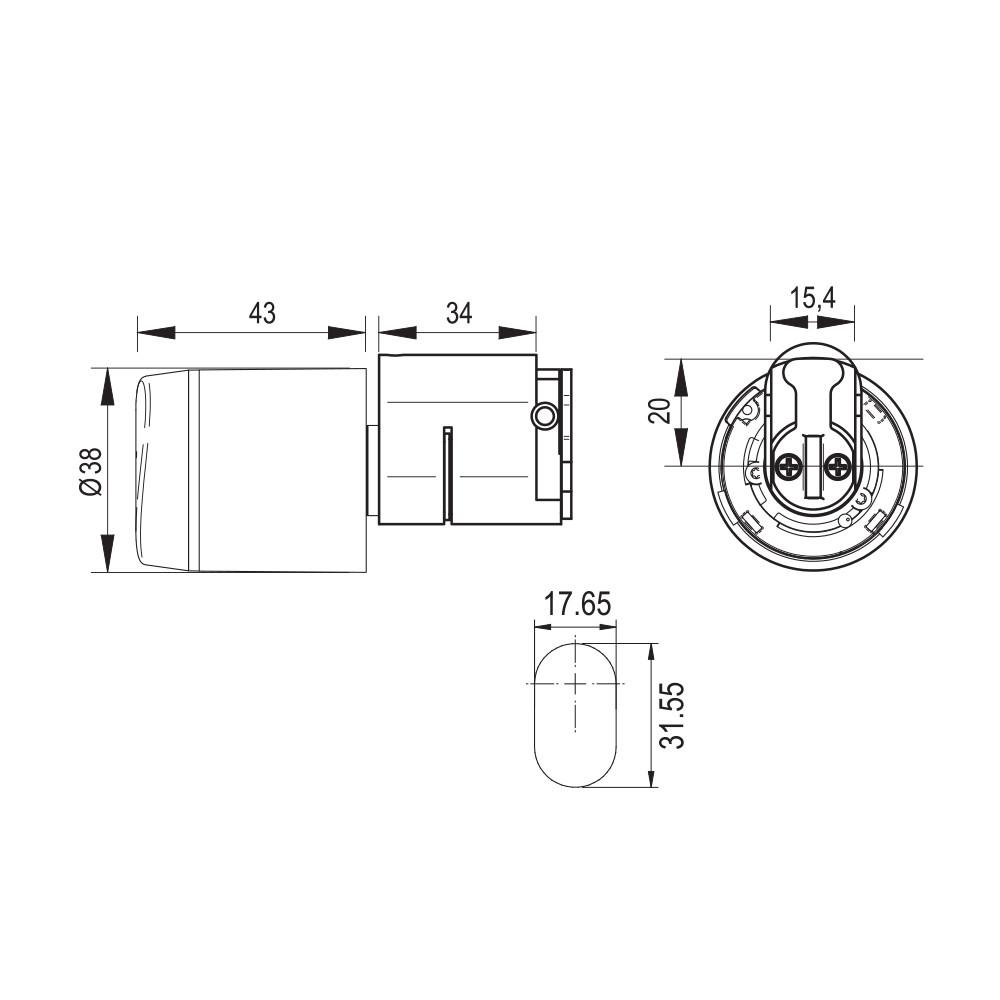 Salto G9a1100n00csbnr Xs4 Geo Oval Cylinder Offline
