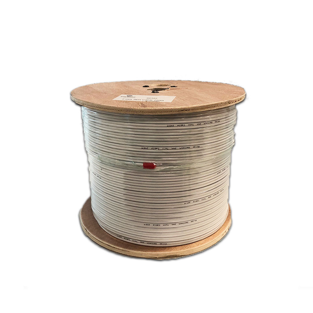 Cable 2mm Twin Cable - 250m 100% Copper