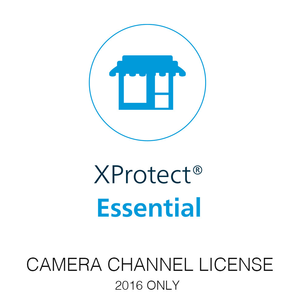 Milestone XP Essential Camera License - only for 2016