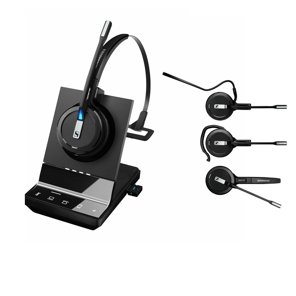 EPOS | Sennheiser IMPACT SDW 5016 DECT 3-in-1 Headset - Phone/Mobile/PC