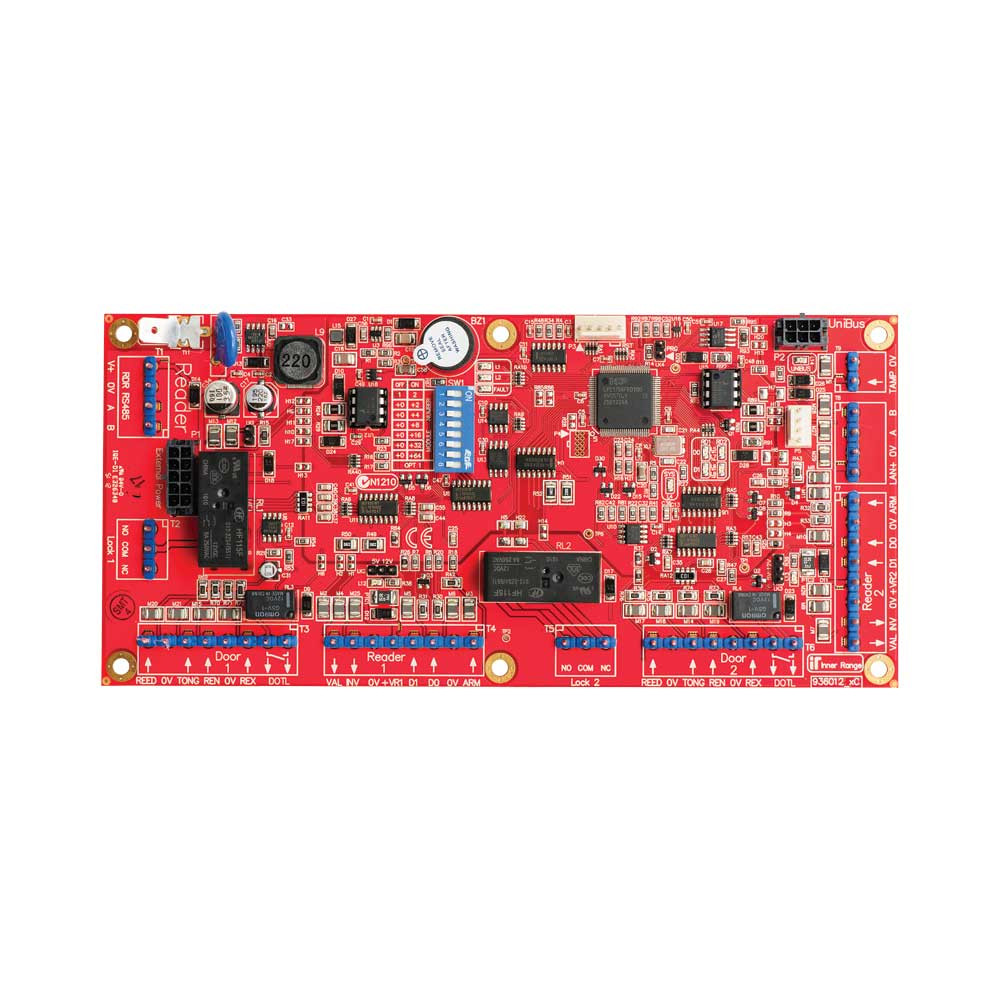 Inner Range Integriti Intelligent LAN 2 Door Access Module - PCB only