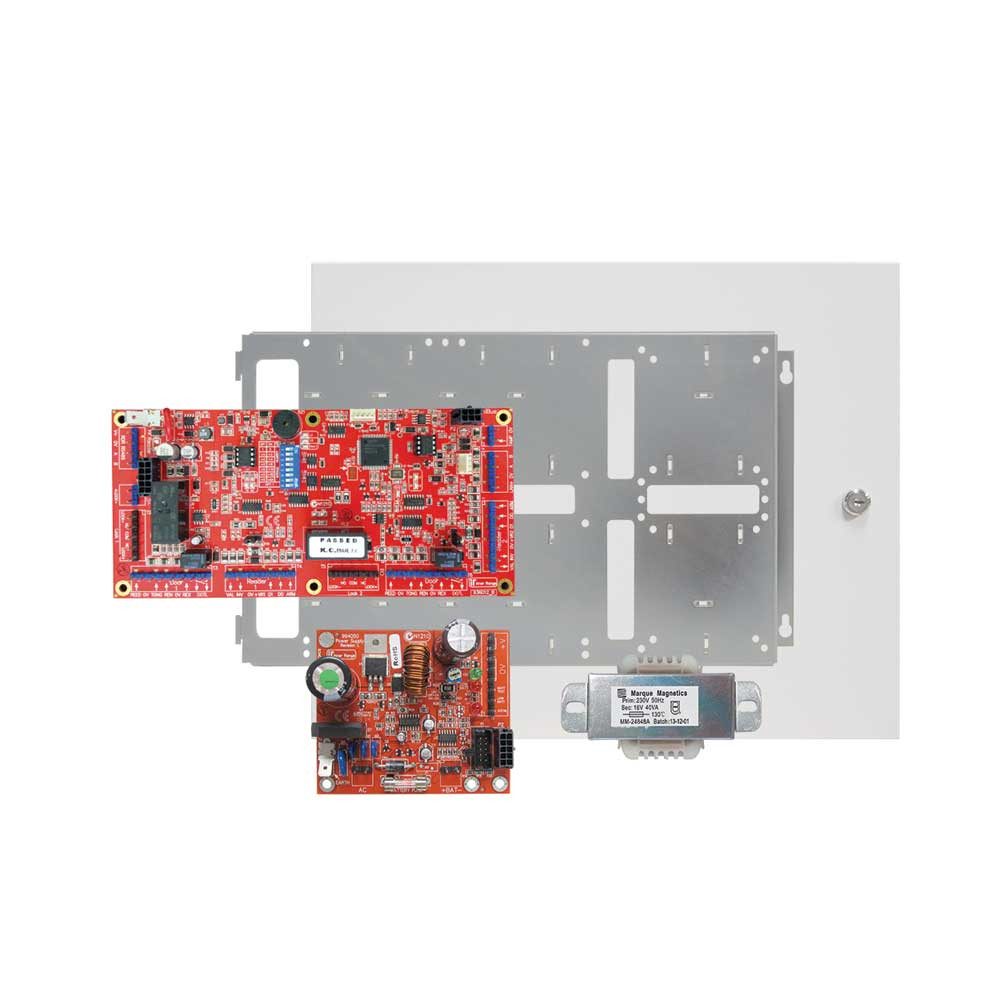 Inner Range Integriti Intelligent LAN 2 Door Access Module with Standard Cabinet & 2 Amp PSU