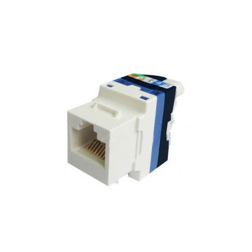 Legrand Cat6 Connector - RJ45 - UTP - Toolless Connector for Outlet Side - White