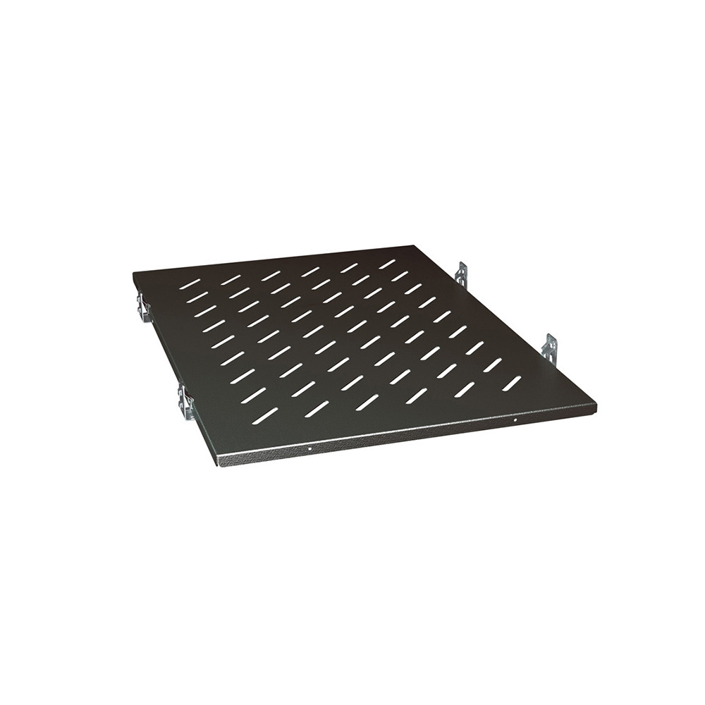 """Legrand 4 x 19"""" Fixed Shelf - 2RU - P800 - Black"""