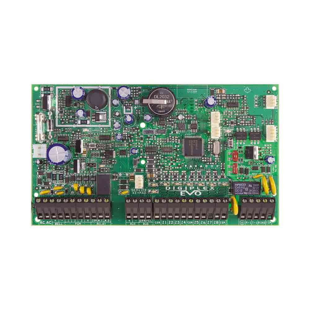 Paradox EVOHD Control Panel - 8 to 192 Zone System - PCB only