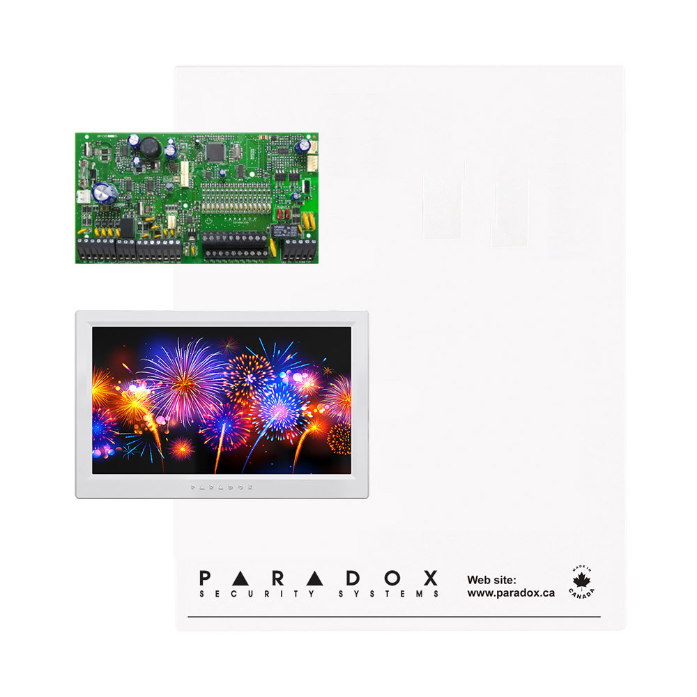 Paradox SP7000 Kit with Standard Cabinet & White TM70 Touch