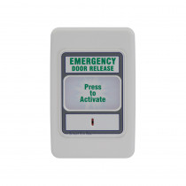 Smart EM Emergency Request to Exit - Backlit - 12/24VDC