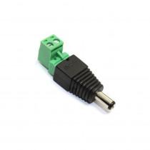 2.1 DC Plug With Screw Terminal