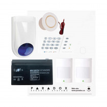 Paradox SP4000 Recession Buster Kit with Small Cabinet, K636 Keypad & WP06 External Siren