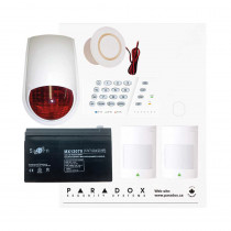 Paradox SP4000 Recession Buster Kit with Small Cabinet, K636 Keypad & PC7 External Siren