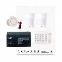 Paradox SP5500 Smart Kit with Small Cabinet & K10H Keypad
