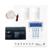 Paradox SP5500 Smart Kit with Small Cabinet & K35 Keypad