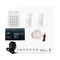 Paradox SP5500 Smart Kit with K10V Keypad & Plug Pack
