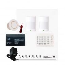Paradox SP5500 Smart Kit with K10H Keypad & Plug Pack