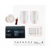 Paradox SP5500 DG Smart Kit with Small Cabinet & K10H Keypad