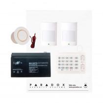 Paradox MG5050 RF Kit with Small Cabinet & K10H Keypad