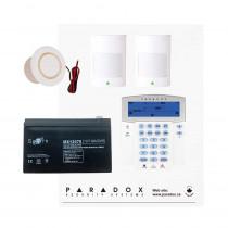 Paradox MG5050 RF Kit with Small Cabinet & K35 Icon Keypad