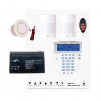 Paradox MG5050 RF Kit with Small Cabinet, K35 Icon Keypad & REM2 Remote