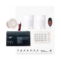 Paradox MG5050 RF Kit with Small Cabinet, K10H Keypad & REM2 Remote