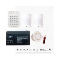 Paradox MG5050 RF Kit with Small Cabinet & K10V Keypad