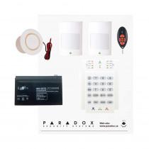 Paradox MG5050 RF Kit with Small Cabinet, K10V Keypad & REM2 Remote