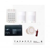 Paradox MG5050 RF Kit with Small Cabinet, K10V Keypad & Plug Pack