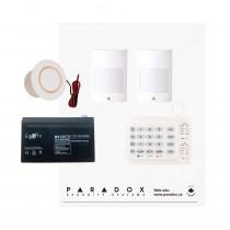 Paradox MG5050 RF Kit with Small Cabinet, K10H Keypad & Plug Pack