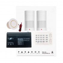 Paradox MG5050 PMD2P Kit with Small Cabinet & K10H Keypad