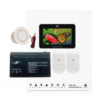 Paradox SP5500 NV TM50-Black Kit with Small Cabinet & Black TM50