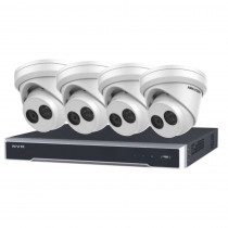 4K PROMO KIT 2 – 8 Channel NVR & 4 Turret Cameras