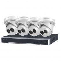 4K PROMO KIT 2 – 8 Channel NVR & 4 Turret Cameras