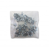 Inner Range Metal PCB Standoff Mounting Clips & Screws - Pack of 25