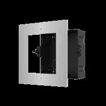 Hikvision DS-KD-ACF1/S Flush Mount Single Module Frame SS