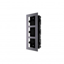 Hikvision DS-KD-ACF3 Flush Mount Three Module Frame
