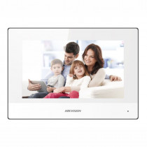 """Hikvision DS-KH6320-WTE1/White 7 """" Touch-Screen Indoor Station Wifi"""
