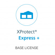 Milestone XP Express+ Base License Only - H.265