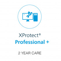 Milestone 2 Year CARE for XP Prfessional + Device License - H.265