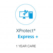 Milestone 1 Year CARE for XP Express+ Camera License - H.265