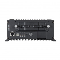 Hikvision DS-MP7504 4 Channel Mobile TVI DVR - Front View