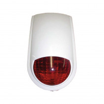 PC7 Polycarbonate Tear Drop External Siren & Flashing Light