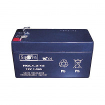 Saturn 12 Volt 1.3 Amp Hour Battery