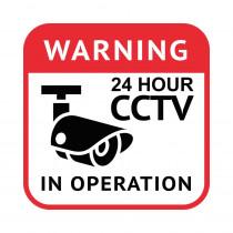 CCTV Sign - 21cm x 21cm