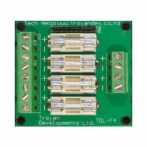 TDL 4FB 4 way fuse board