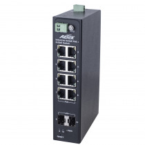 AETEK H30-082-30 Industrial Unmanaged 8-Port 30W PoE + 2-Port SFP PoE Switch