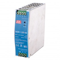 AETEK NDR-120-48 120W Power Supply 240AC IN 48-55VDC OUT