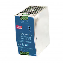 AETEK NDR-240-48 240W Power Supply 240AC IN 48-55VDC OUT