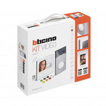 "Legrand BTicino Professional 2 Wire Video Kits - Classe 300 - Wi-Fi - Key Tabs - Call Station with 7"" Touchscreen"