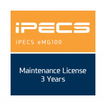Ericsson LG iPECS eMG100 Maintenance License - 3 Years